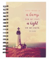 Journal - Spiral, Thy Word is a Lamp for my Feet