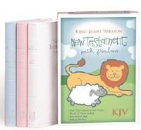 KJV New Testament Children's Bible- Baby Blue