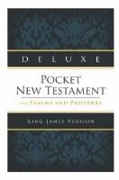 KJV Deluxe Pocket NT