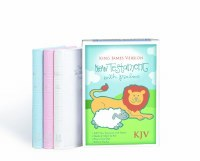 KJV NT Childrens Gift Bible White