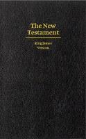 KJV Giant Print New Testament - Black Hardcover