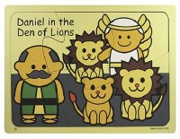Wooden Puzzle - Daniel in the Lion's Den