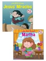 Jesus' Miracles/Martha Flip-Over Book