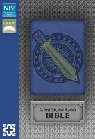 NIV Bible - Blue Armor of God (Boxed)