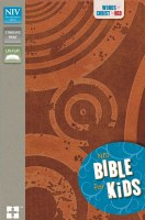 NIV Kid's Bible - Brown/Tan Imitation Leather