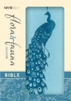 NIV Compact Bible - Turquoise/Teal Peacock