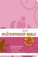 NIV Waterproof Bible - Pink