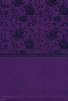 NKJV Super Giant Print Reference Bible- Purple