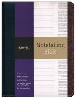 NKJV Notetaking Bible - Black/Brown Bonded Leather