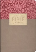 NLT Every Day Matters Bible for Women - Rose/Floral Flexisoft