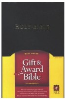 NLT Gift & Award Bible - Black Hardcover