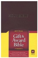NLT Gift & Award Bible - Burgundy Hardcover
