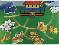 Wooden Puzzle - Noah's Ark Labrynth