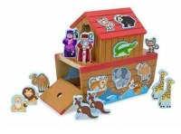 Melissa and Doug Noah's Ark Shape Sorter