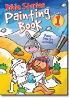 BIBLE STORIES PAINTING BK 1