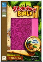 NIV Adventure Bible - Raspberry Flower DuoTone