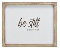 Plaque - Psalm 46:10 Be Still