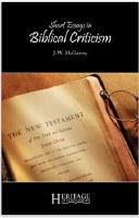 Short Essays on Biblical Criticism