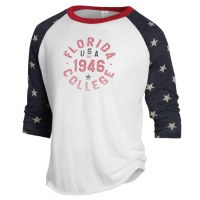 Alternative Apparel Stars & Stripes Baseball Tee