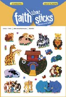STICKERS, ARK AND ANIMALS