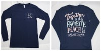 Together is Our Favorite Place Long Sleeve Tee