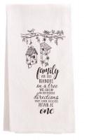 Tea Towl - Family Quote