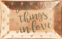 Trinket Tray - Do All Things in Love