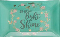 Trinket Tray - Let Your Light Shine