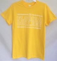 Gildan Yellow Tower Tee
