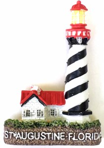 Lighthouse 3D Magnet