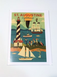 Lighthouse Geo Notecard