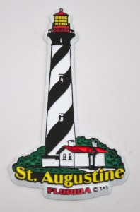 Lighthouse Magnet/Rubber