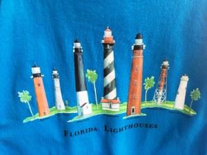 Fl Lighthouse T-shirts M Sapph