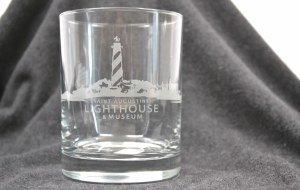 Etched Rock Glass