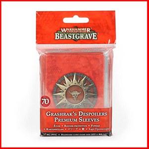 Warhammer Underworlds : Beastgrave : Grashrak's Despoilers Sleeves