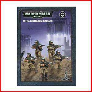 Warhammer 40000 : Astra Militarum : Easy to Build Cadians