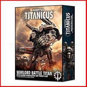 Adeptus Titanicus : The Horus Heresy : Warlord Battle Titan With Plasma Anniilator and Power Claw