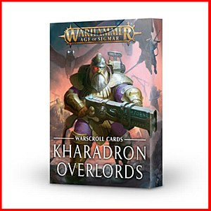 Age of Sigmar : Warscroll Cards : Kharadron Overlords