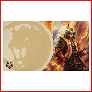 Right Hand of the Emperor : Legend of the Five Rings Playmat : Lion Clan