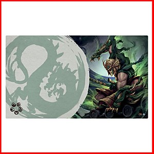 Master of the High House of Light : Legend of the Five Rings Playmat : Dragon Clan