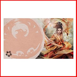 The Sould of Shiba : Legend of the Five Rings Playmat : Phoenix Clan