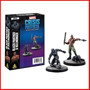 Marvel : Crisis Protocol : Black Panther and Killmonger