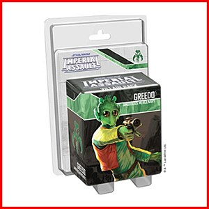 Star Wars Imperial Assault : Greedo Villain Pack
