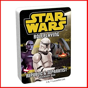 Star Wars Roleplaying : Republic and Separatist Adversary Deck