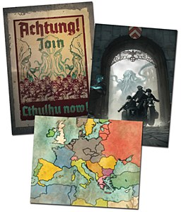 Achtung! Cthulhu : Poster Set