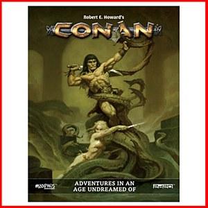 Conan Adventures in the Age Undream Of RPG : Deluxe Conqueror's Edition