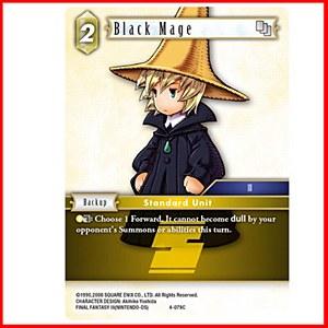 Black Mage Foil (4-079C)