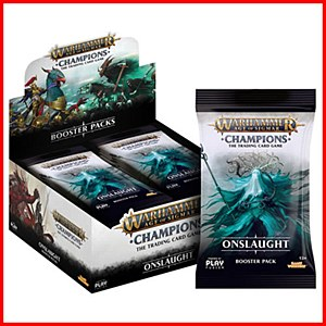 Age of Sigmar : Champions Wave 2 : Onslaught Booster Pack