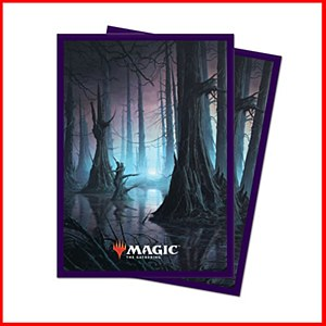 Magic the Gathering Unstable Lands : Swamp Sleeves 100ct
