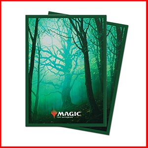Magic the Gathering Unstable Lands : Forest Sleeves 100ct